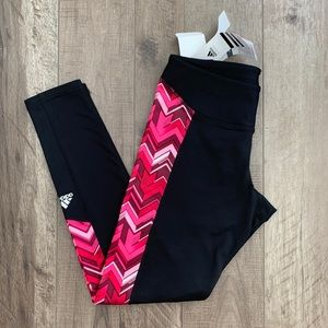 NWT Adidas Techfit Compression Climawarm Tights